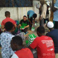 Dompet Dhuafa Beri Bantuan Logistik untuk Keluarga Pencari Suaka