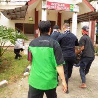 Bantu Evakuasi Anak Tukang Becak yang Alami Gangguan Kejiwaan Ke Rumah Sakit