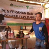 Tokopedia Bantu Acep, Disabilitas Multi Talenta