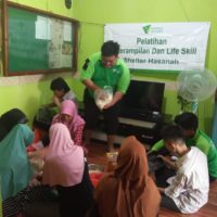 Pasien Shelter Hasanah Dompet Dhuafa Ikuti Pelatihan Keterampilan dan Buka Puasa Bersama